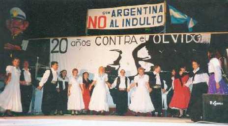 Actuación año 1998