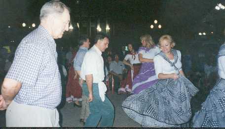 Bailando para los maestros